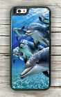 DOLPHINS FAMILY SEA LIFE CASE FOR iPHONE 8 OR 8 PLUS -hkj8X