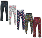 MENS CHARACTER PYJAMA BOTTOMS EX UK STORE RRP £20 S M L XL LOUNGE PJ PANTS BNWT