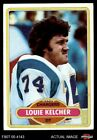 1980 Topps #412 Louie Kelcher Chargers SMU 8 - NM/MT $0.99 USD on eBay