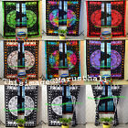 Indian Astrology Curtain Horoscope Good Fortune Zodiac Design Tulle Voile Set