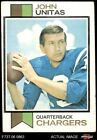 1973 Topps #455 Johnny Unitas Chargers Louisville 4 - VG/EX $14.0 USD on eBay
