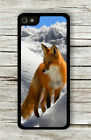 RED FOX IN WINTER LANDSCAPE CASE FOR iPHONE 4 , 5 , 5c , 6 -jmf6X