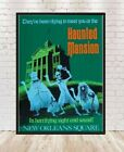 Haunted Mansion Poster New Orleans Square Poster Vintage Disney Poster