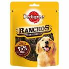 Pedigree Ranchos Dog Chews Treats With Lamb Chicken or Beef 70g Meat Pack of 7