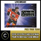 2019-20 O-PEE-CHEE PLATINUM HOCKEY 4 BOX HALF CASE BREAK #H659 - PICK YOUR TEAM $15.0 CAD on eBay