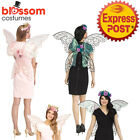 AC720 Fantasy Fairy Sparkle Angel Butterfly Wings Halloween Costume Accessory