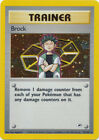 Brock Trainer Holo Pokemon Card Gym Heroes 15/132