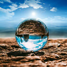 110mm Clear Crystal Photography Lens Ball Photo Prop Background Home Decor Au