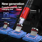 3 in 1 Magnetic Fast Charging Phone Charger Cable & Data Syncing Cord LED Light