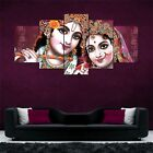 Lord+Krishna+Art+Split+5+Frames+Wall+Panels+for+Living+Room+%23166+-+HKTPIC-AU