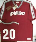 MIKE SCHMIDT PHILADELPHIA PHILLIES Mitchell & Ness Throwback Jersey Shirt on Ebay