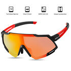 Polarized Cycling Glasses Full Frame Sports Riding Sunglasses Goggles Bicycle US