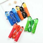 Home Sports Fitness Skipping Counting Jump Rope Adjustable Bearing Speed image