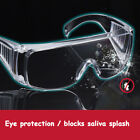 Protective Safety Glasses Clear Lens Work ANTI-FOG LENS New