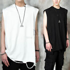 NewStylish Mens Ripped boxy tank top