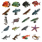 Durable Ocean Creature Figurines Waterproof Marine Action Models for Kids Boys