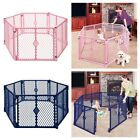 Big 6 Panel Wide Super Playpen Play Yard Baby Dog Pet Enclosure Extra Large Pen for sale  Shipping to South Africa