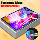 "For Apple iPad Pro 12.9"" 11"" 2020 / 2018 Tempered Glass Screen Protector Film"