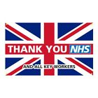 5ft x 3ft Thank You NHS Union Jack Flag or Banner with 25% Donation