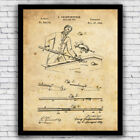 Billiards Pool Cue Stick Vintage Patent Wall Art Print - Size and Frame Options $17.9 USD on eBay