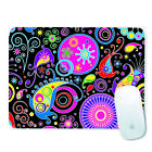 235*196*2mm Non-Slip Mouse Pad For Computer Gaming Laptop Rubber Base Flowers