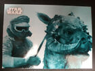 Star Wars Empire Strikes Back Black & White BLUE & SEPIA parallels $1.0 USD on eBay