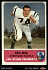 1962 Fleer #82 Ron Mix Chargers USC 5 - EX $22.0 USD on eBay