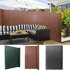 Garden PVC Privacy Fence Screen Wall Border Shade Panel Screening Fencing Cover