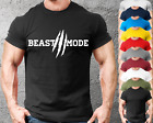 Beast Mode Gym T-Shirt Mens Gym Clothing | Workout Training Vest Bodybuilding