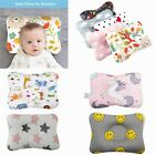 Baby Infant Newborn Pillow Flat Head Prevention Sleeping Support Soft Breathable