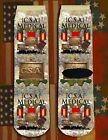 Southern Medical American Civil War/War Between the States crew socks