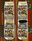 George Custer American Civil War/War Between the States crew socks