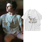 Call Me by Your Name Timoth e Chalamet T-Shirt Cotton Short Sleeve Summer Loose