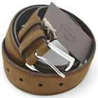 CHURCH'S MAN BELT 100% SUEDE CASUAL FREE TIME CODE CT0007