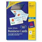 Avery 8379 White Business Cards Ink Jet 400 Cards New Open Box Free Shipping