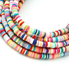 About 400pc 3-6mm Flat Round Polymer Clay Beads Chip Disk Loose Spacer Beads Diy