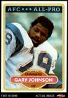 1980 Topps #210 Gary Johnson - All-Pro Chargers Grambling 8 - NM/MT $12.0 USD on eBay