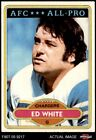1980 Topps #190 Ed White - All-Pro Chargers California 6.5 - EX/MT+ $2.65 USD on eBay