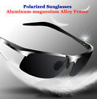Men Aluminum Polarized Photochromic Sunglasses Driving Eyewear Sport Glasses