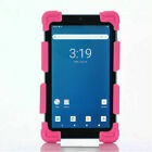 For 7 - 8 inch Tablet PC Shockproof Silicone Case Cover Universal Protective LA