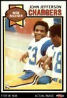 1979 Topps #217 John Jefferson Chargers Arizona St 6 - EX/MT $4.0 USD on eBay