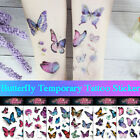 Watercolor Butterfly Temporary Tattoo Sticker Waterproof Children Body Art-. $3.86 USD on eBay