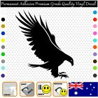 Eagle - Permanent Adhesive Vinyl Decal Sticker Car/wall/laptop