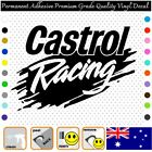 1x Castrol Racing - Permanent Adhesive Vinyl Decal Sticker Car/wall/laptop