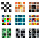 10pcs/set Retro Floor Tiles Wall Stickers Self-adhesive Decals For Kitchen