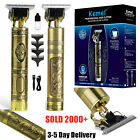 KEMEI Portable Electric Cordless Clipper Trimmer Hair Shavers + Blade Oil US