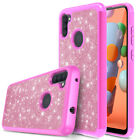 For Samsung Galaxy A01/A11/A21/A51/A71 5G Phone Case Hybrid Luxury Bling Cover