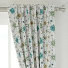 """Retro Retro Kitchen 1950 Mid Century 50"""" Wide Curtain Panel by Roostery"""