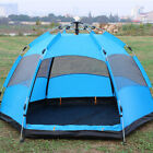 5-8 People Automatic Pop Up Instant Large Tent Waterproof Outdoor Camping