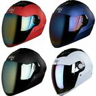 Steelbird Multi Choice Air SBA-2 Full Face Motorbike Helmet with 1 Extra Visor